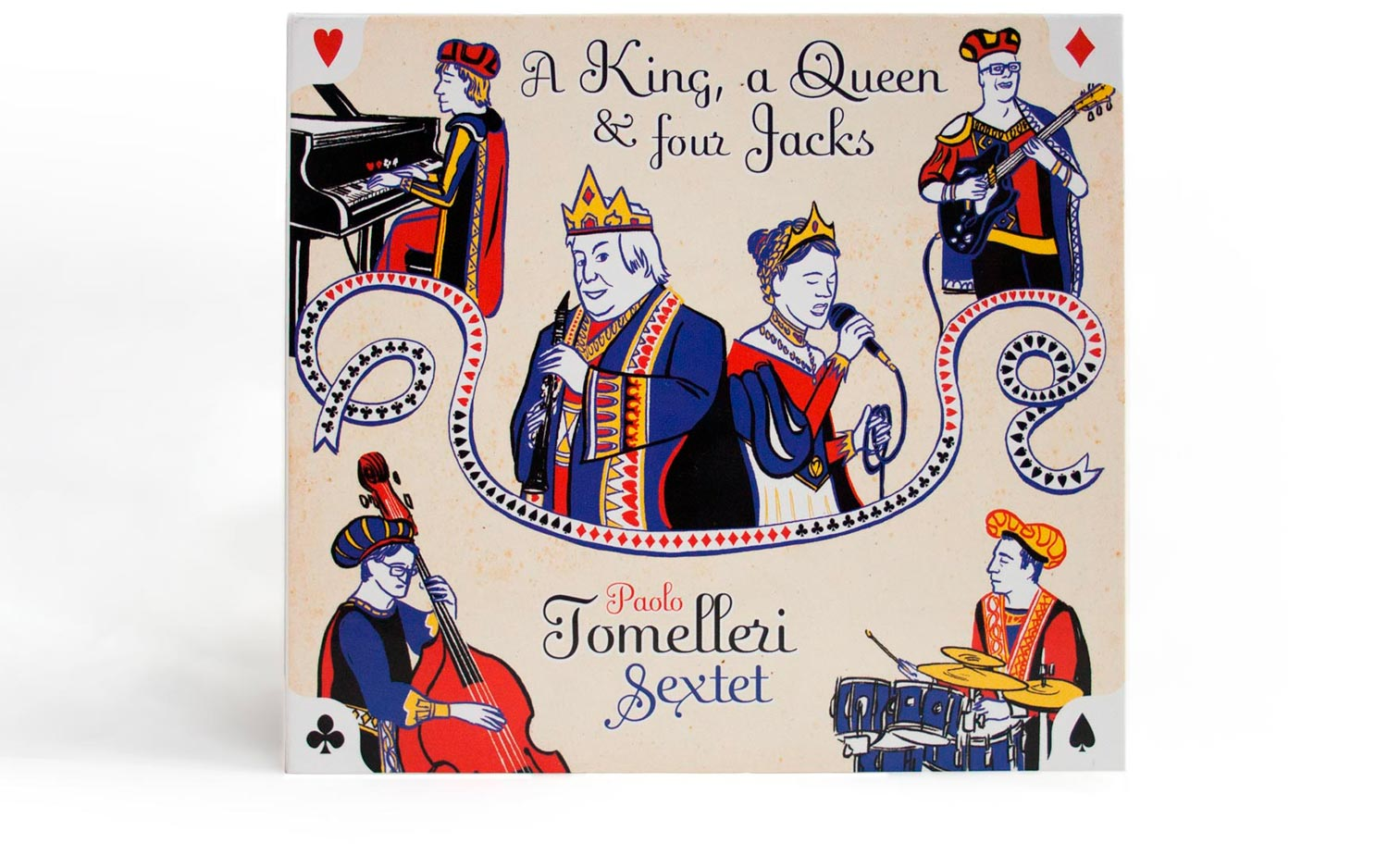 Paolo Tomelleri Sextet - A King, a Queen and four Jacks